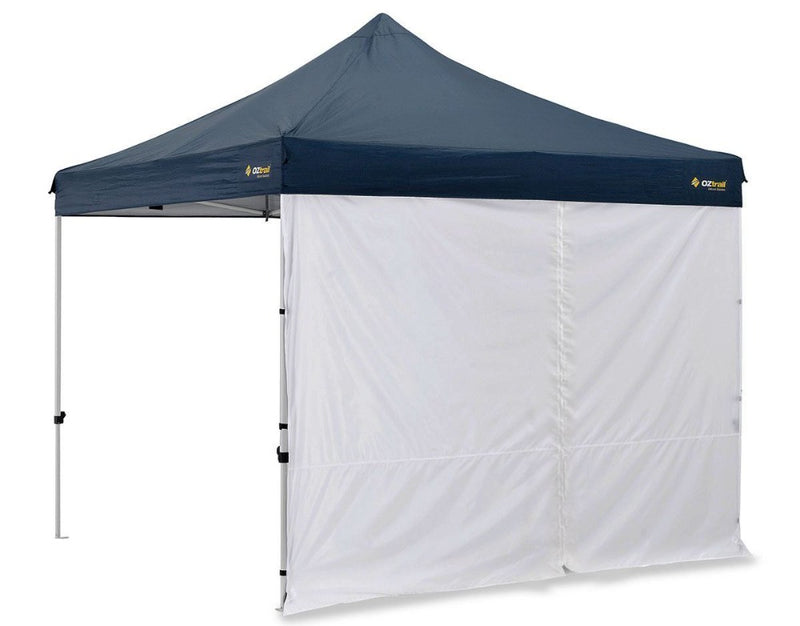 Oztrail 3.0M Gazebo Solid Wall with Center Zip