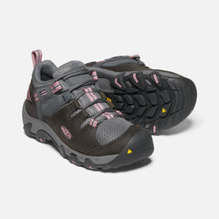 Magnet Nostalgia Rose | Keen Womens Steens Vent Hike Shoe- Pair. Pictured from the front, angled to the side showing one sole