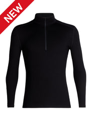 Icebreaker Mens Merino 260 Tech Long Sleeve Half Zip Thermal