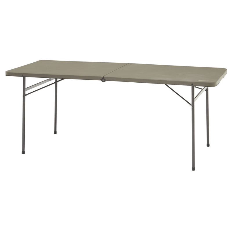 Coleman Fold in Half 6ft Table. Set up