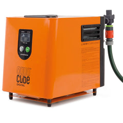 Companion Aqua Cube Hose Adaptor, Attached to Aqua Cube Digital. Your Outdoor Store