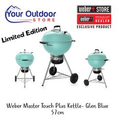 Glen Blue | Weber master touch plus kettle 57 cm. hero