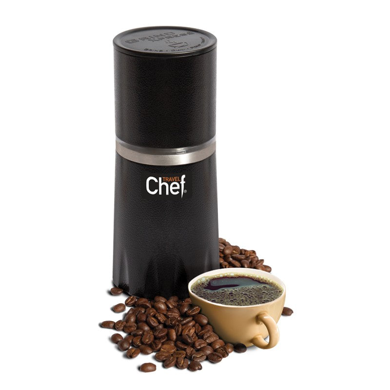 Travel Chef Grind Express Portable Coffee Maker