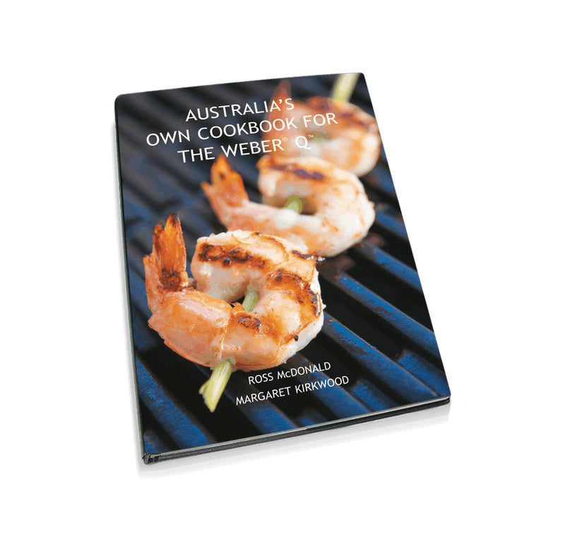 Weber Australians Own Cookbook for the Weber Q- 250-10