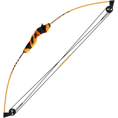 Barnett Wild Hawk 18LB Compound Bow | Black and Orange | Bow and accessories in packaging | Your Outdoor Store