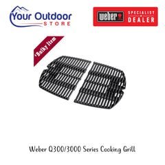 Weber Family Q 300/3000 Series Cooking Grills