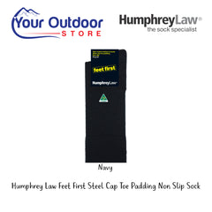 HumphreyLaw Feet First Steel Cap Toe Padding Non Slip Sock