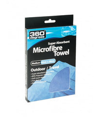 Blue | 360 Degrees Super Absorbent Microfiber Towel Medium