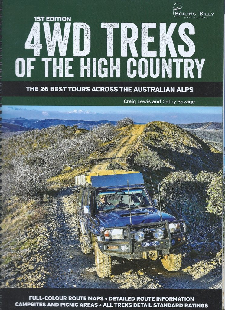 Hema Atlas & Guide The High Country Victoria