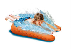 Blue Orange | Bestway H20GO Slide starting point inflated with water and boy
