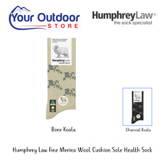 HumphreyLaw Fine Merino Wool Cushion Sole Health Sock - Kolala
