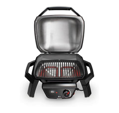 Weber Pulse 1000 Barbecue Black Lid Open