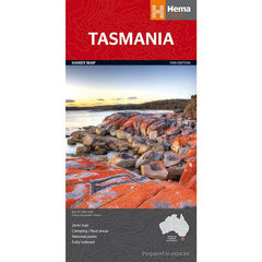Hema Tasmania Handy Map