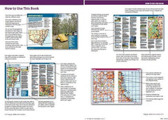 Boiling Billys Camping Guide to Australia. How to use this book page preview