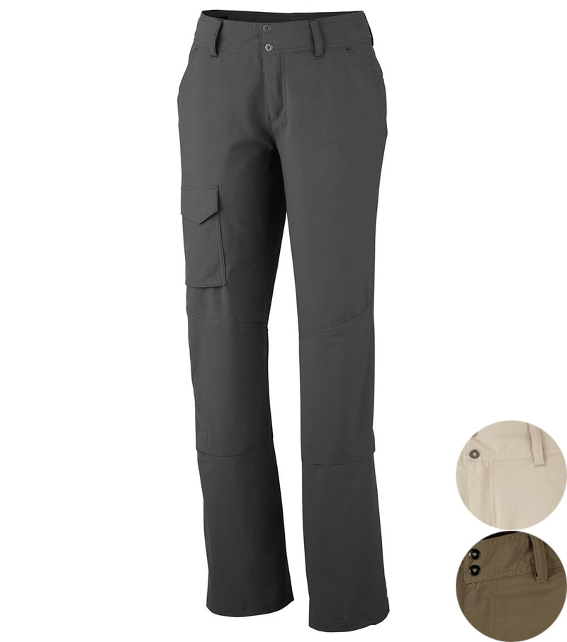 Grill | Columbia Silver Ridge Womens Cargo Pants. Full Length Front View | Your Outdoor Store