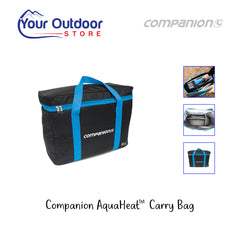 Black / Blue | Companion Aquaheat Carry Bag. Hero