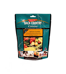 Back Country Apple Crumble, 2 serve pouch. Freeze Dried Food Portions