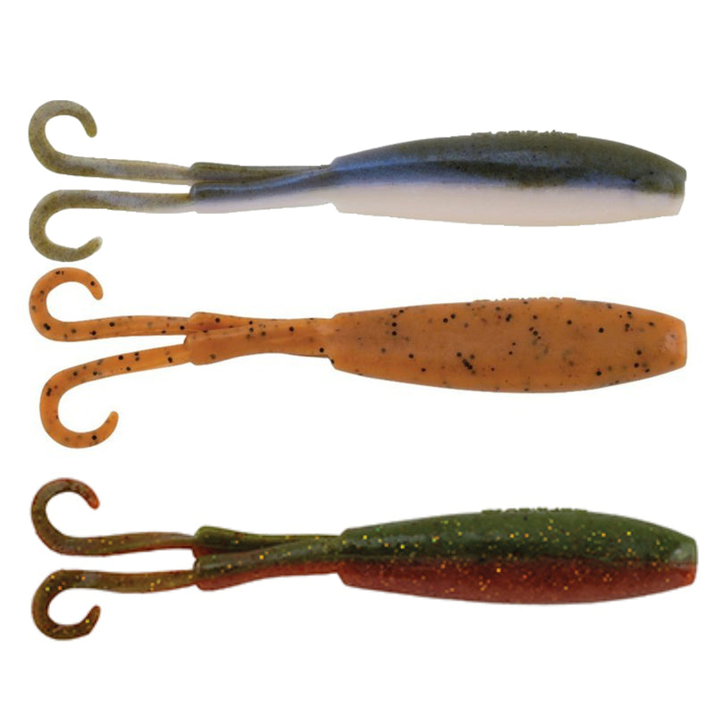 Camo | Berkley Gulp Twin Tail Minnow