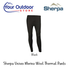 Hero | Sherpa Unisex Australian Merino Wool Baselayer Pants