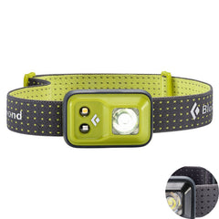 Grass with Black Color Spot | Black Diamond Cosmo 200 Lumens. Black. Your Outdoor Store