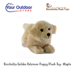 Bocchetta Golden Retriever Puppy Plush Toy- Maple