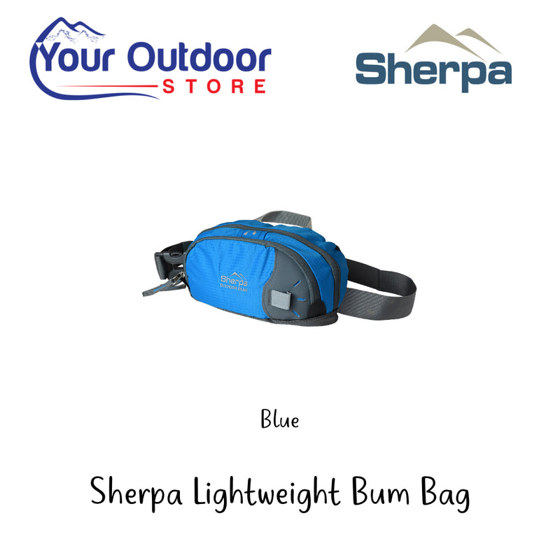 Blue | Sherpa Bum Bag