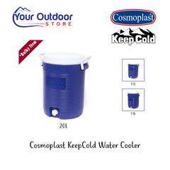 Dark Blue | Cosmolast KeepCold 20L Water cooler, branded hero image