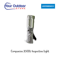 Black / Green | Companion X500Li Rechargeable Inspection Light