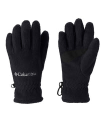 Black | Columbia Youth Fast Trek Fleece Glove pair