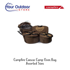 Campfire Canvas Camp Oven Bag various sizes