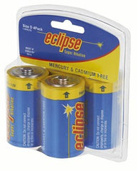 Eclipse Size D Battery 4 Pack
