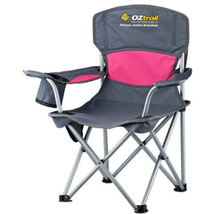 Pink | Oztrail Deluxe Junior Chair | FCC-DJCP-B