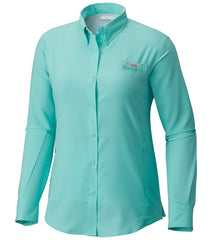 Pixie | Columbia PFG Tamiami Women's Long Sleeve Shirt. Front