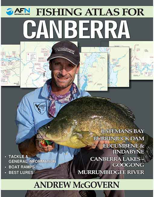 Australian Fishing Network. Fishing Atlas For Canberra