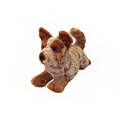 Bocchetta Red Cattle Dog Plush Puppy Toy- Flame