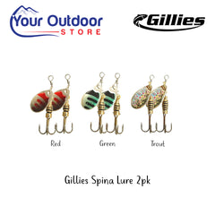 Gillies Spina Lure 2pk