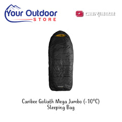 Black | Caribee Goliath Mega Jumbo -10  Sleeping Bag