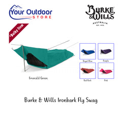 Emerald Green | Burke & Wills Ironbark Fly Swag. Hero Image