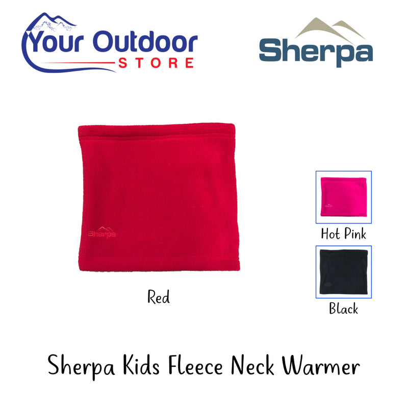Sherpa Kids Fleece Neck Warmer