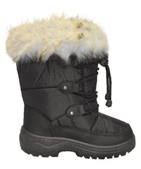 XTM Kids Skyler Boot Black Side