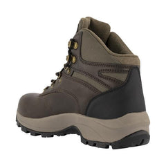Dark Chocolate | Hi-Tec Men's Altitude VI i WP Walking Boots angled heel view showing outside side