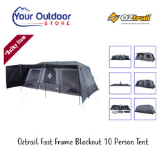 Oztrail Fast Frame Blockout 10 Person Tent