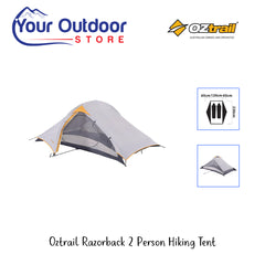 Oztrial Razorback 2 Perspon Hiking Tent- hero