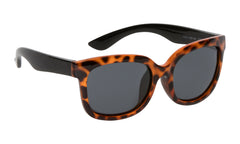 Leopard Print Black | Ugly Fish Mermaid Junior Unbreakable Sunglasses PKM511 BR.SM.
