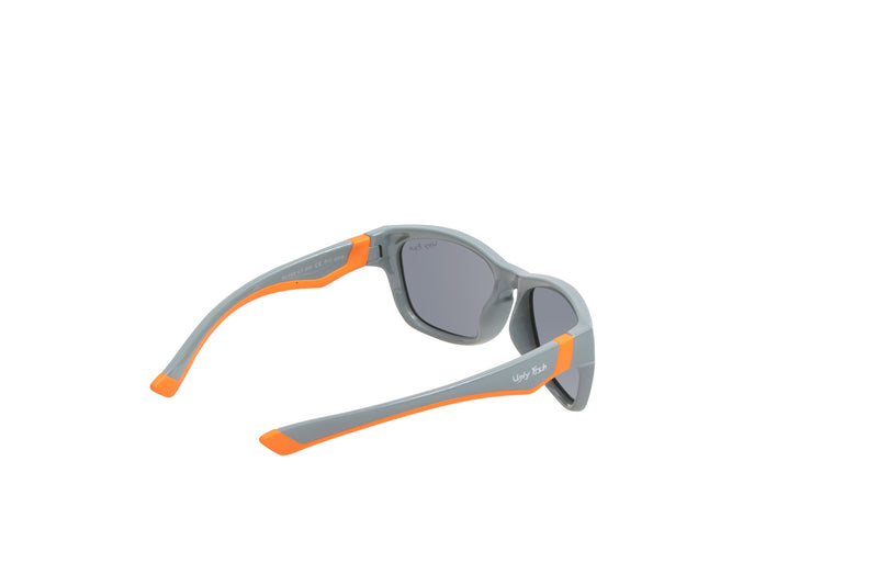 Grey / Orange | Ugly Fish Junior Unbreakable Sun Glasses PK488 GY.SM.