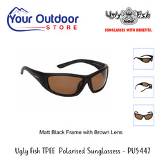 Ugly Fish Adult TPEE Polarised Sunglasses PU5447 MBL.BR