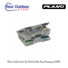 Plano Guide Series Two Tiered Tackle Tray Stowaway 3600