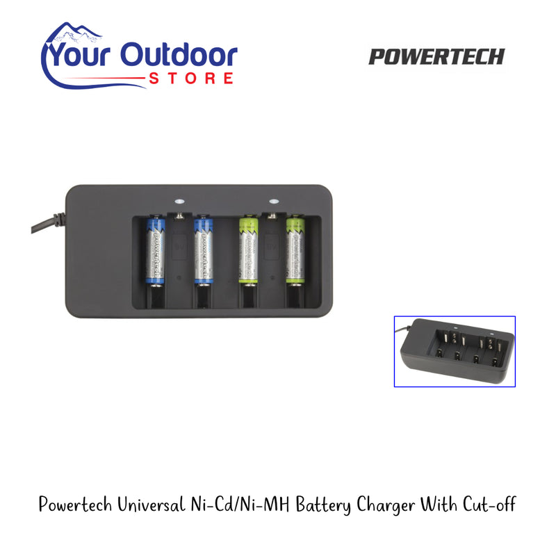 Electus Powertech Plus Universal Battery Charger