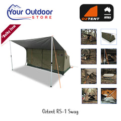 Oztent RS-1 Series II King Single Swag