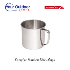 Stainless Steel | Campfire Stainless Steel Mugs